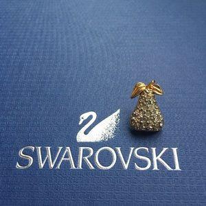 Vintage Swarovski Pear Pin/ Brooch